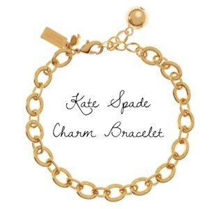Kate Spade How charming gold plated bracelet